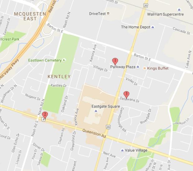 Gun Violence Map Hamilton